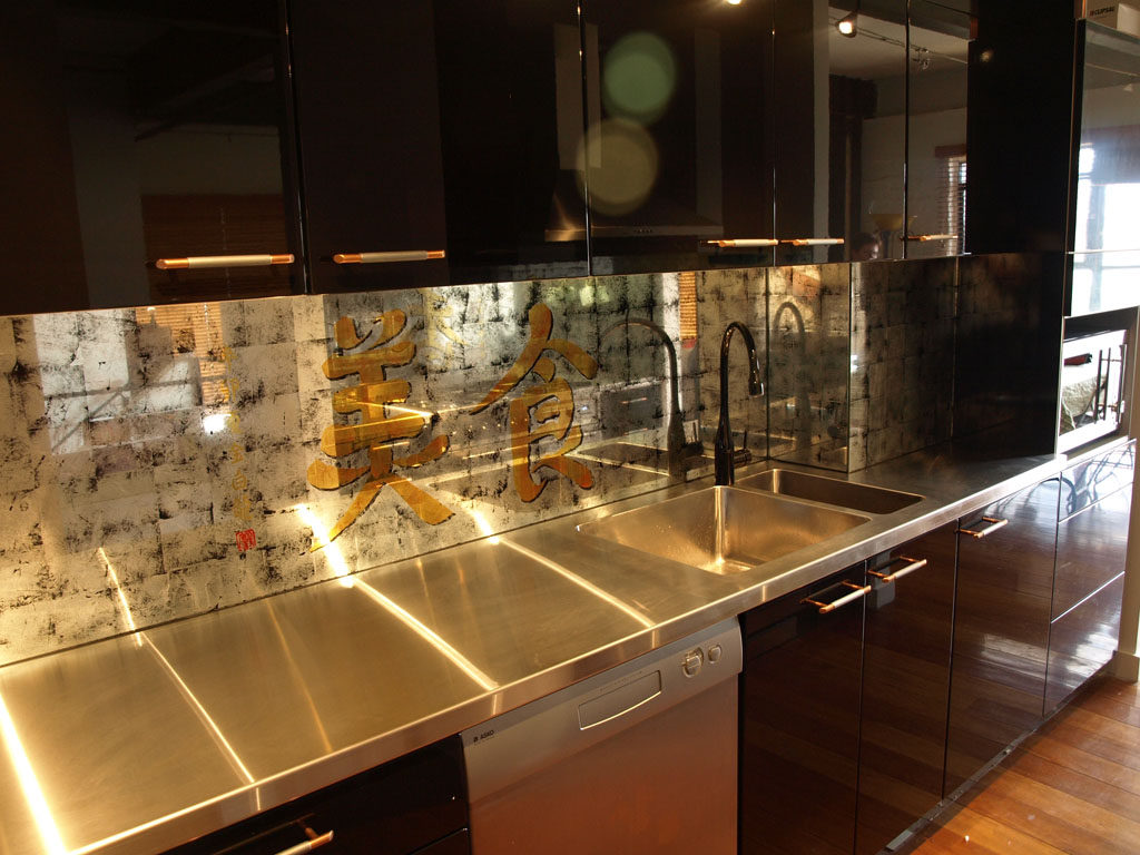 Kitchen splashbacks and glass wall panels - Glass wall panels kitchen ...